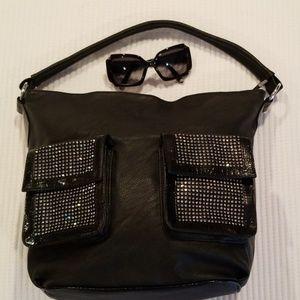 Black, Stunning Handbag
